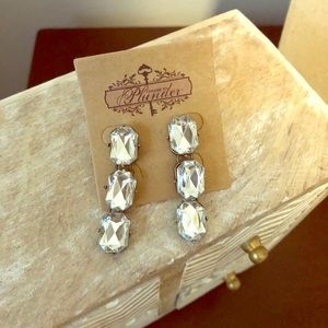Blinging earrings